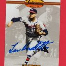 1994 TED WILLIAMS CO. LEW BURDETTE AUTOGRAPH w/FREE SHIPPING!