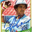 1980 TOPPS RICK CERONE AUTOGRAPH w/FREE SHIPPING!