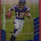 2007 SCORE SIDNEY RICE ATOMIC ROOKIE w/FREE SHIPPING!