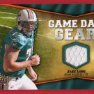 2009 UD GAME DAY GEAR JAKE LONG GU JERSEY w/FREE SHIPPING!