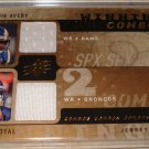 2008 SPX DONNIE AVERY/EDDIE ROYAL DUAL JERSEYS 18/99 w/FREE SHIPPING!