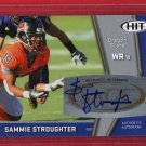 2009 SAGE HIT SAMMIE STROUGHTER AUTOGRAPH w/FREE SHIPPING!