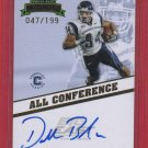 2009 PRESS PASS DONALD BROWN AUTOGRAPH 047/199 w/FREE SHIPPING!