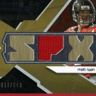 2008 SPX Matt Ryan Rookie Jersey 067/149!