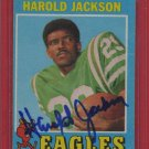 1971 Topps Harold Jackson Autograph!