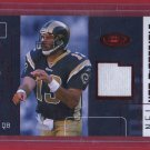 2002 Fleer Hot Prospects Kurt Warner GU Jersey 44/50!