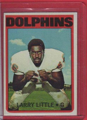 1972 Topps Larry Little Rookie