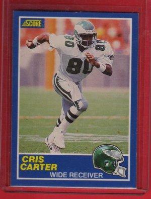 1989 Score Cris Carter Rookie