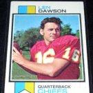 1973 Topps Len Dawson