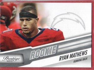 2010 Prestige Ryan Mathews Rookie