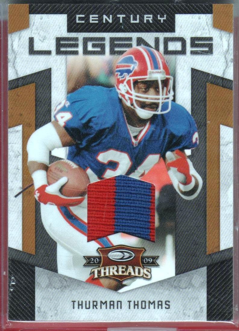 2009 Threads Thurman Thomas 2 Color Patch 03/50