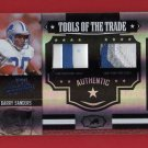 2007 Absolute Barry Sanders Dual Multicolor Patches 08/25