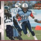 2010 Threads Chris Johnson 2 Color Patch 23/50