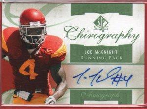 2010 SP Joe McKight Autograph