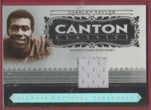 2006 National Treasures Charley Taylor GU Jersey 35/99