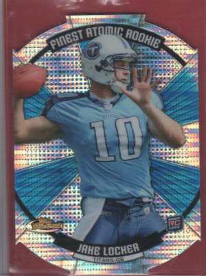 2011 Finest Atomic Refractor Jake Locker