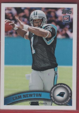 2011 Topps Cam Newton (Factory Set Only)