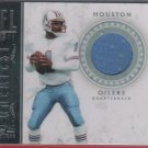 2011 National Treasures NFL Greatest Warren Moon GU Jersey 98/99