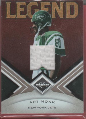 2010 Limited Art Monk GU Jersey 118/199
