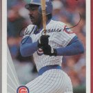 1990 Leaf Andre Dawson Autograph