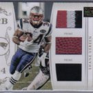 2011 National Treasures NFL Gear Shane Vereen 3 Color Patch 30/49