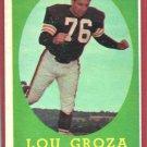 1958 Topps Lou Groza