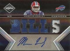 2010 Limited Marcus Easley 3 Color Patch/Autograph 054/199