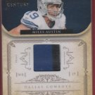 2011 National Treasure Miles Austin 3 Color Patch 29/49