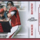 2009 Prestige Matt Ryan 3 Color Patch 27/50