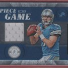 2011 Totally Certified Matthew Stafford GU Jersey 023/148