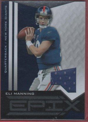 2010 Epix Eli Manning GU Jersey