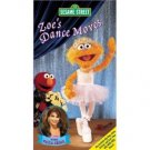 Zoe's Dance Moves VHS Tape Sesame Street 2003