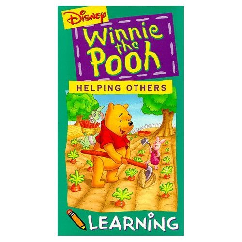 Winnie The Pooh: Helping Others VHS Tape Walt Disney Home Video