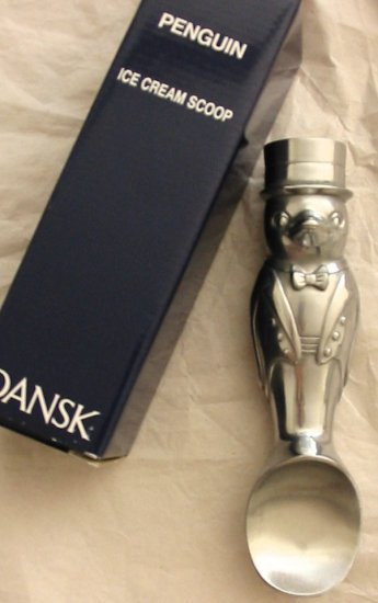 DANSK PENGUIN ICE CREAM SCOOP - NEW IN BOX - FREE US SHIPPING