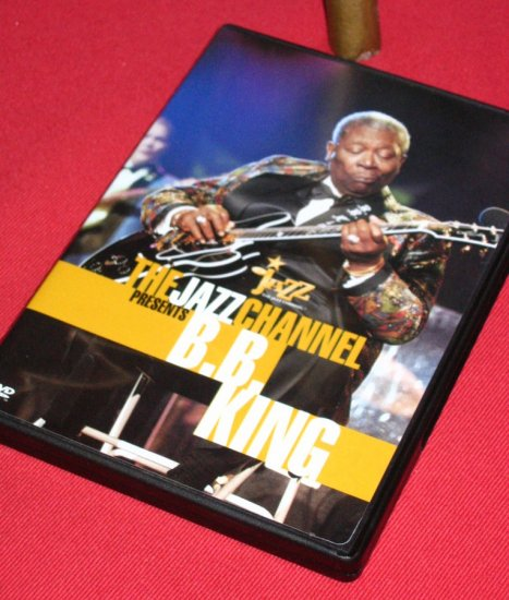 DVD- B.B. KING: THE JAZZ CHANNEL PRESENTS-Beautiful HD Concert video-Great Music!