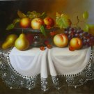 """New Hand-Made 24x36"""" 'Still Life' Oil Painting on Canvas"""