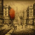 """New Hand-Made 20x24"""" Paris Oil Painting on Canvas"""