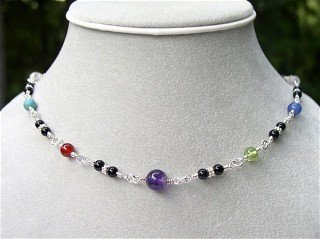 Multi-Colored Choker