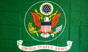 US Army (Green) Flag