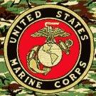 USMC Camo Flag