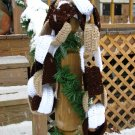 Cafe Latte Chain Link Scarf