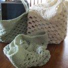 Set of 3 OOAK Crochet Shopping Bags