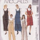 McCall's 2893 Pattern Misses' Miss Uncut Petite Jumper Jumpsuit Two Lengths Sizes 10 to 14