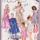 McCall's Fashion Basics for Kids Girls Dress & Attached Petticoat Size 12 Dated 1987