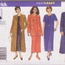 Butterick Pattern Delta Burke 5635 Women's Jacket Duster Top Pants Dress 22W-26W