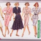 Butterick Classics 6316 Vintage Sewing Pattern Misses Dress-Top-Skirt Dated 1988 Size 18-20