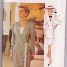 Vogue Woman Dress Jacket Top & Skirt Sewing Pattern 8590 Sizes 14-18 Dated 1993