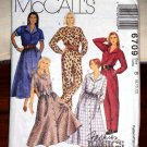 Misses McCall's Classic Shirtdress & Jumpsuit Pattern 6709 Sizes 8-12 Petit-Able Dated 1993