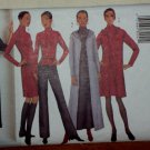 Butterick Pattern 6771 Misses Jacket Duster Top Dress Skirt Pants Suit Sizes 18 to 22