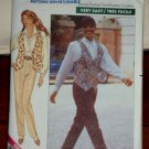Butterick Pattern 4470 Retro 1989 Shirt/Blouse Vest Pants Misses Sizes 12-16 © 1989